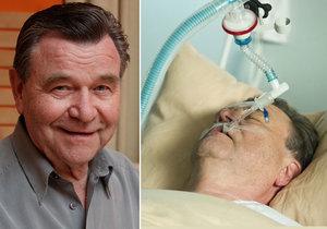 V seriálu Vinaři jeho postava prodělala infarkt. Nyní Václav Postránecký podstoupil skutečnou operaci.