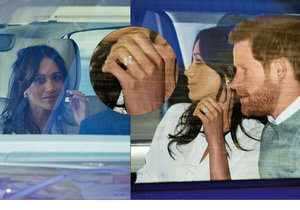 Snoubenci princ Harry a Meghan Markle a jejich poslední společné chvíle před svatbou.