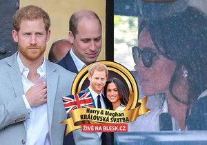 Zkouška svatby dopadla katastrofálně: William zuřil, snoubenci plakali.