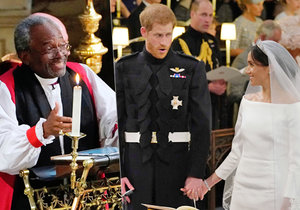 Černošský kněz Michael Curry pronesl na svatbě Harryho a Meghan vášnivý projev.