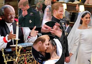 Nejsilnější momenty svatby prince Harryho a Meghan Markle
