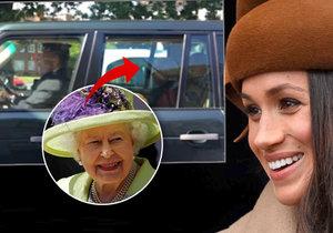 Meghan teď asi na pejska nebude mít moc času, čekají ji líbánky. Guy se ovšem zalíbil královně, s níž se dokonce svezl v autě.
