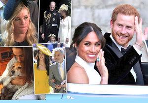 Unikly detaily ze svatebních oslav prince Harryho a Meghan.