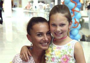 Alice Bendová s dcerou Aličkou