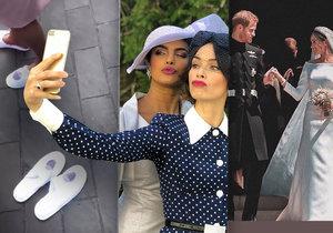 Hosté na svatbě Harryho a Meghan porušili zákaz! Co uniklo z tajného večírku?