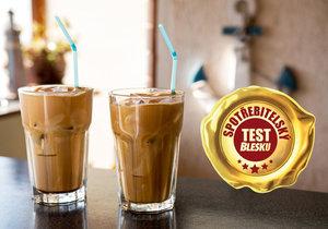 Blesk testoval ledové kávy.