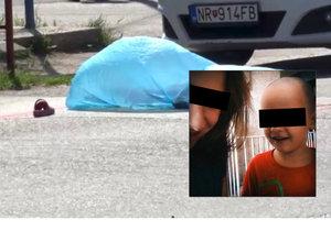 Malý Miška (†4) umřel pod koly autobusu.