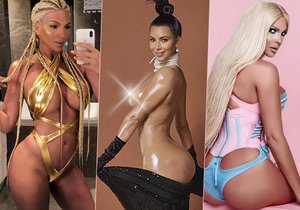 Srbsko má vlastní Kim Kardashian! Nestydatá zpěvačka vystrkuje prsa i zadek