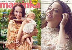 Napravená rebelka Agáta Prachařová: Chci ještě třetí dítě.