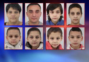 Policisté z jižní Moravy pátrají po osmičlenné rodině. Společně se dvěma rodiči se ztratilo i šest dětí.