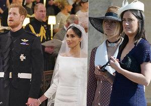 »Dohazovačka«, co seznámila Harryho a Meghan: Z královské svatby utekla předčasně!