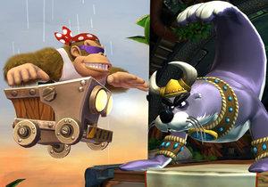 Povedená hopsačka Donkey Kong Country: Tropical Freeze je ve verzi pro Nintendo Switch přístupnější více hráčům.