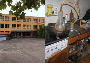 Údajně kontaminovaná Základní škola Na Beránku.