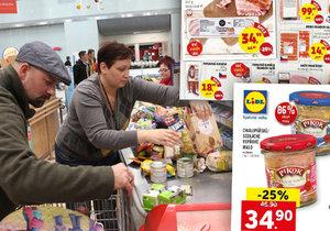 Obchodní řetězce v Česku nabízejí šizené potraviny.