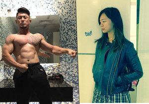 Zápasník Gary Chu (†28) zavraždil svou přítelkyni, protože mu lhala o tom, že je panna.