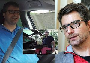 Ochrnutý Michal Jančařík se učí znovu řídit.