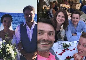 Pepa Vágner se oženil na Krétě! Hosté se sjeli z celého světa.