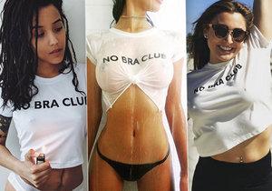 Hnutí #NoBra na Instagramu: Stále více žen odkládá podprsenku