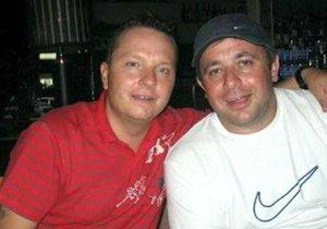 Oba podnikatelé si byli blízcí. Libor Mirovský (vlevo) si byl s Nikolou Molčanem blízký