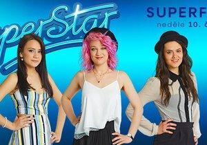 SuperStar - finálová trojka