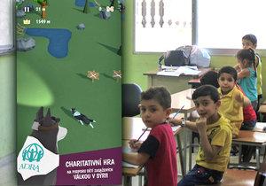 Syrské děti se nemají téměř kde učit. S opravou škol po válce má pomoct i česká mobilní hra od společnosti ADRA.