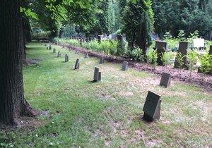 Dětský hřbitov v Ďáblicích, který dlouhá desetiletí čeká na podrobnější průzkum odborníků.