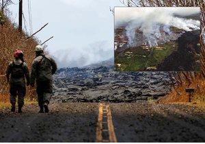 Sopka Kilauea pokračuje ve svém řádění.