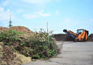 Slivenecká kompostárna je připravená na rok 2019: Za bioodpad dostanete pražský kompost