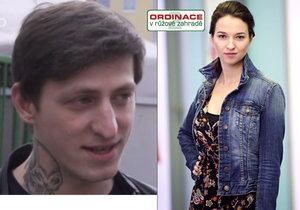 Mladík z dětského domova si splnil sen a zahrál si v Ordinaci po boku Bereniky Kohoutové.