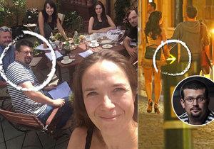Tereza Kostková si vyrazila na tajné noční rande s režisérem Jakubem Nvotou.