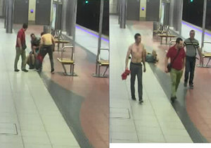 Útočníci napadli muže ve stanici metra Bořislavka.
