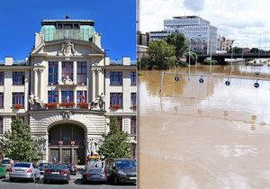 Magistrát se chystá na možné povodně.