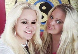 Monika Štiková s dcerou Charlotte