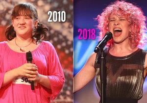 Tereza byla před osmi lety v Talentu