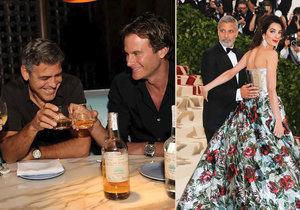 George Clooney se ukázal jako velkorysý kamarád. Svým přátelům rozdal 300 milionů korun.