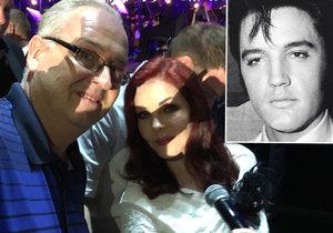 Slavík chyběl: Priscilla Presley si popovídala o Gottovi s jeho tajemníkem
