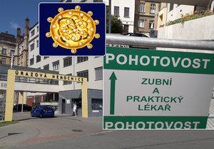 Pacient zamířil do Úrazové nemocnice Brno v sobotu večer kvůli bolesti zubů. Třináct let přitom trpí nakažlivou žloutenkou typu C.