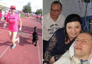 Tisíce lidí běhaly 24 hodin: Ochrnutý záchranář dostane rehabilitaci, Janička živého koníka