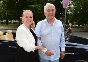 Jiří Krampol s manželkou Hanou