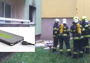 Tragédii zabránili dnes ráno strážníci a hasiči ve Starém Lískovci. Spícímu dítěti hořela pod hlavou matrace.