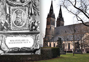 V roce 1085 byl Vratislav II. korunován za prvního českého krále. Své sídlo měl na Vyšehradě.