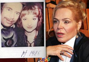 Václav a Jitka byli milenci od roku 1983.