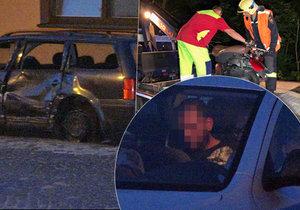Smrtelná nehoda na Mladoboleslavsku: Opilý řidič  srazil motorkáře, pak od nehody ujel