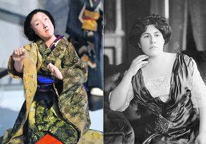 Výstava v Muzeu Jindřichohradecka odhalila některá tajemství Emy Destinové. Pěvkyně byla například vášnivou sběratelkou figurek gejš.