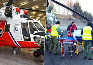 Vrtulník Sokol má nalétáno rekordních 5000 hodin. Zasahoval každý den posledních 20 let. Byl i u tragické nehody francouzského autobusu v roce 2013.