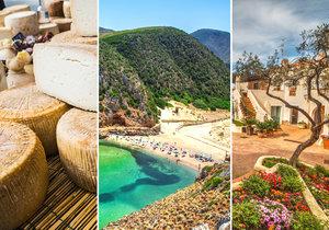 Sardinie je místem nejkrásnějších pláží, prehistorických staveb, skalisek, pracovitých lidí, bohaté přírody i malebných středověkých městeček.