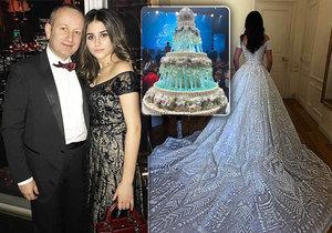 Svatba plná luxusu za 300 milionů! Vdala se rozmazlená dceruška ruského miliardáře.