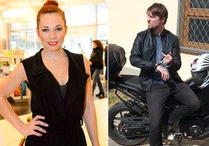 Míša Nosková v slzách: Manžel se ošklivě vyboural na motorce!