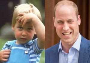 Malý princ William vůbec netušil, že z něj jednoho dne má být král...