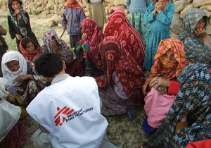 Humanitární organizace Lékaři bez hranic čelí sexuálnímu skandálu, pracovníci vyměňovali zdravotnickou pomoc za sex, (ilustrační foto).